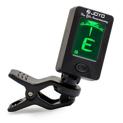 Chromatic Clip-On Digital Tuner for Acoustic Guitar Bass Violin Ukulele 8