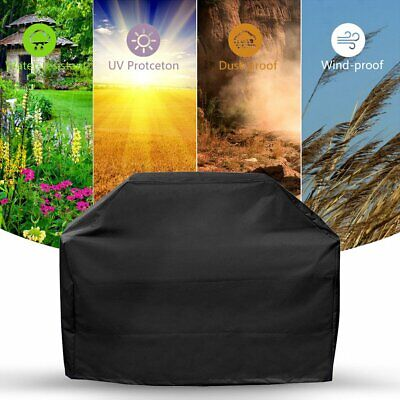 Extra Large Bbq Cover Outdoor Waterproof Garden Barbecue Grill Gas Protector Uk 3