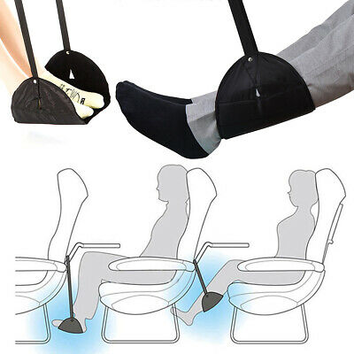 Portable Comfy Hanger Travel Airplane Footrest Hammock Office Feet Rest Relax 8