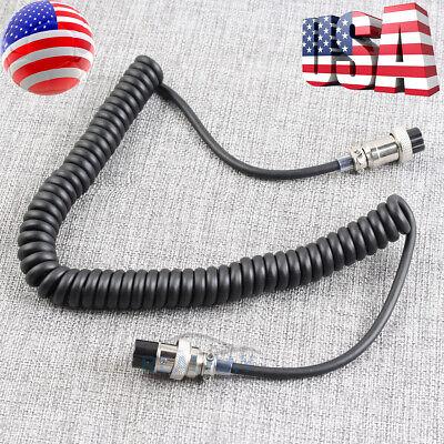 8 pin mic microphone extension cable cord Kenwood radio MC-90 MC-60A MC-43 MC-47
