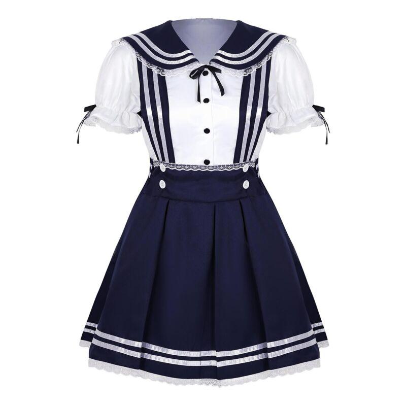 Krankenschwester Anime Manga Karneval Kostüm Schuluniform Fasching Schoolgirl
