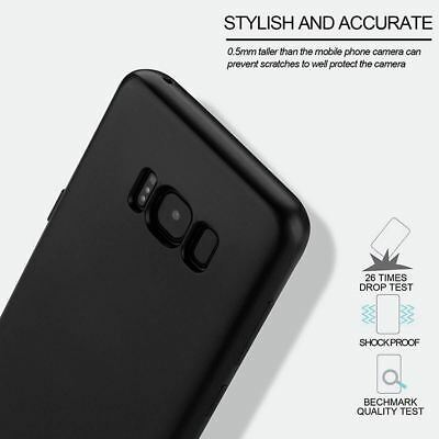 New ShockProof Hybrid 360 TPU Thin Case Cover For Samsung Galaxy S7 edge S8 S9 + 7