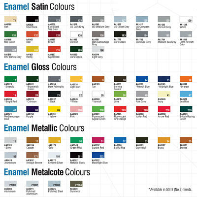 Humbrol Enamel Model Paint 14ml Gloss Metallic Satin Matt All Colours & Shades 3