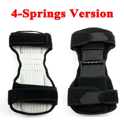 Patella Booster Spring Knee Brace Support Mountaineering Squat Sport Gym Running 12