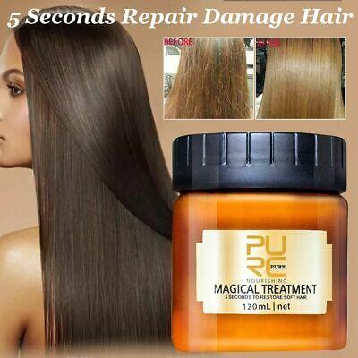 PURC Magical Treatment Mask 5 Seconds Repairs Damage Restore Soft Hair 60 120mL 2