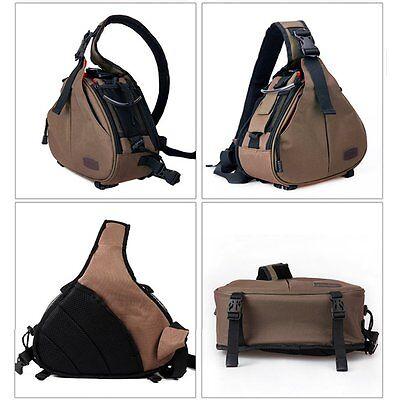 New Canon Nikon Sony Camera Backpack Sling Shoulder Bag Case Shockproof DSLR SLR 10