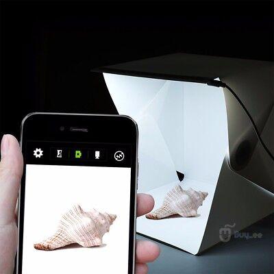 Mini LED Box Light Room Photo Studio Photography Lighting Tent Kit Backdrop Cube 2