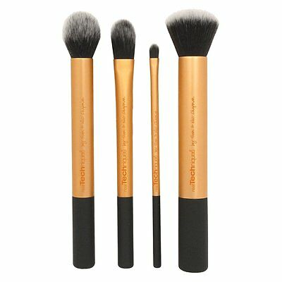 4PCS Cosmetic Real Techniques Core Collection Makeup Brushes Contour Foundation 4