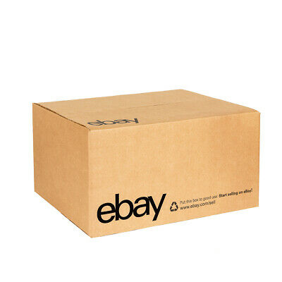 "eBay-Branded Boxes With Black Color Logo 16"" x 12"" x 8"" 3"
