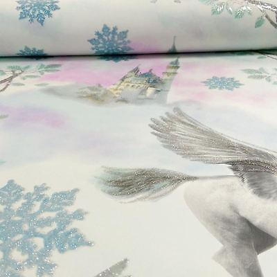 Fairytale Unicorn Wallpaper Rolls - Blue - Arthouse 667800 New