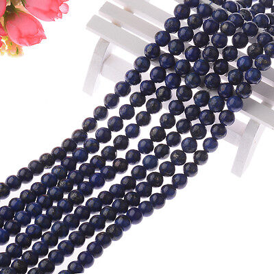Wholesale 20 PCS/Lot Natural Gemstone Round Spacer Loose Beads 4MM 6MM 8MM