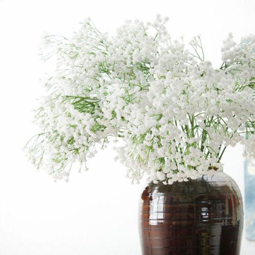 white gypsophila faux soie fleurs artificielles bouquet partie accueil jolie B2Z