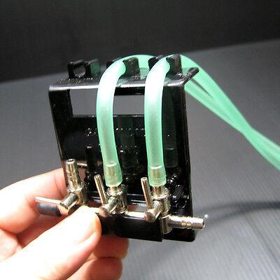 Accrochez le 3 Way Pompe à air Manifold Valve Taps 3