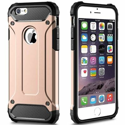 Hybrid Armor Shockproof Rugged Bumper Case For Apple iPhone 10 X 8 7 Plus 6s 5s 10