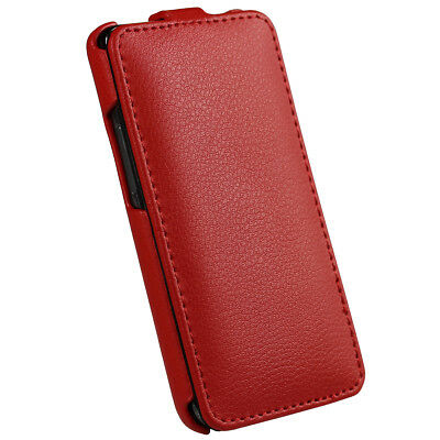 Red Leather Case Cover for Samsung i9100 Galaxy S2 II Android Smartphone Holder 3