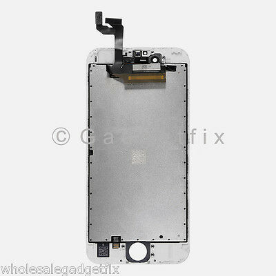 USA New White LCD Screen Display + Touch Screen Digitizer + Frame for iphone 6S 2