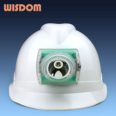 Wisdom lamp model 4 (4A) cap light w/accessories