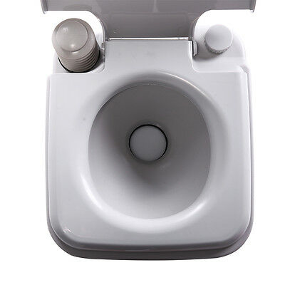 5 Gallon 20L Portable Toilet Flush Commode Camping Outdoor/Indoor Commode Potty 7