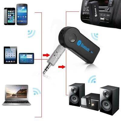 Wireless Bluetooth Adapter 3.5mm Aux Audio Music Receiver Stereo Car Mic 5