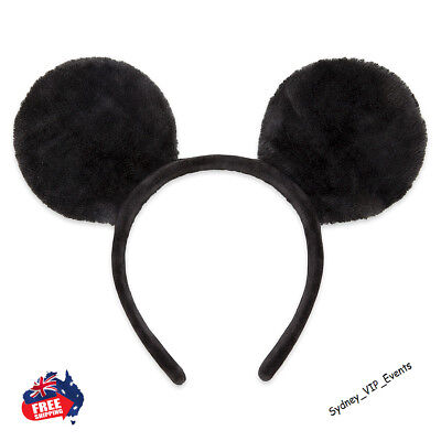 Mickey Minnie Mouse Ears Headband Party Costume Bow Fancy Dress 7 Colours Option 8