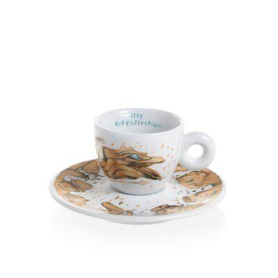 ILLY Collection 2018 MAX PETRONE 6 Tazzine Espresso Tazze Numerate e Firmate 2