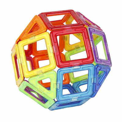 50Pcs Magnetic Building Blocks Construction Block Kids Toy Educational Set Gift 4