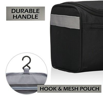 Men Business Travel Cosmetic Bag Make Up Toiletry Storage Dry Wet Pouch Wash Bag 9