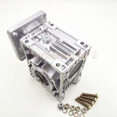 NEMA23-030 Worm Gear Speed Reducer NEMA23 Ratio 10 25 30 40 50:1 Stepper motor 2