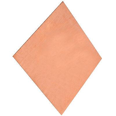 1PC 99.99% Pure Copper Cu Metal Sheet Plate 0.8mm*100mm*100mm 5