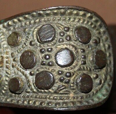 Antique Greek Hand Made Bronze Fertility Bracelet