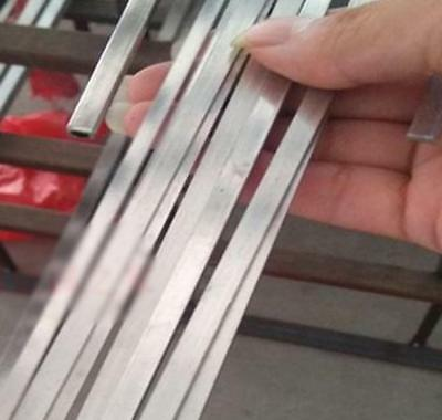 US Stock 2pcs 3mm x 25mm x 330mm(13 inch) 304 Stainless Steel Flat Bar Sheet 4