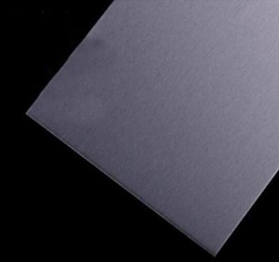 "US Stock 2.5mm x 250mm(9.84"") x 250mm(9.84"") 5052 Aluminum Sheet Metal Plate 2"