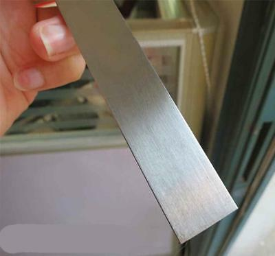 US Stock 2pcs 3mm x 25mm x 330mm(13 inch) 304 Stainless Steel Flat Bar Sheet 3
