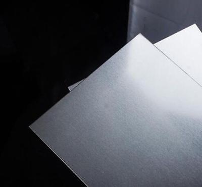 "US Stock 2.5mm x 250mm(9.84"") x 250mm(9.84"") 5052 Aluminum Sheet Metal Plate 3"