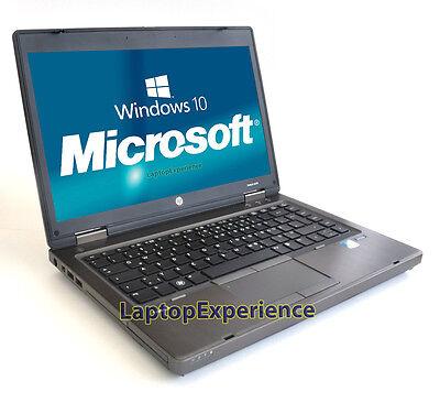 "HP LAPTOP COMPUTER PROBOOK WINDOWS 10 WIN 14"" 2.1GHz 4GB 320GB NOTEBOOK PC WiFi 10"