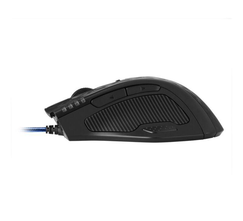 Sharkoon Drakonia Black Gaming Mouse, Maus (schwarz)