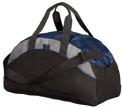 1fbee6cfb263 PORT & COMPANY - MEDIUM Contrast Duffel Bag, Gym Duffle, Travel Carry On,  BG1070