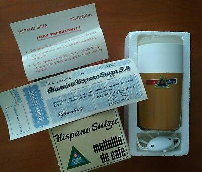Hispano Suiza VINTAGE molinillo café ELÉCTRICO VER Fotos. Más de 70 años y nuevo 3