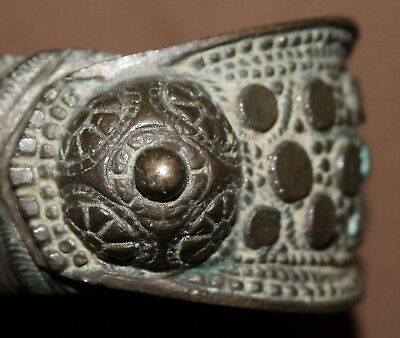 Ancient Greek bronze female fertility bracelet 7