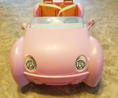 2006 Mattel Barbie Beach Glam Cruiser Pink Convertible Sports Car 6