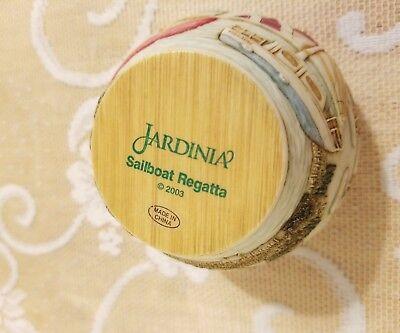 Jardinia Harmony Kingdom Sailboat Regatta;  New; Retired; Martin Perry Studios