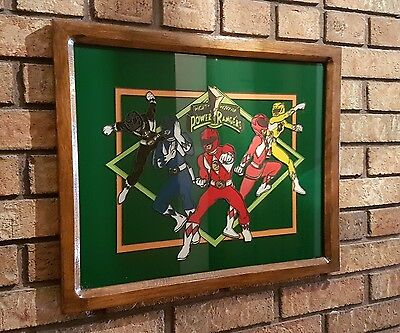 Hand Painted And Framed Power Rangers Artwork 3