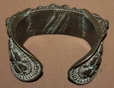 Ancient Greek bronze female fertility bracelet 5