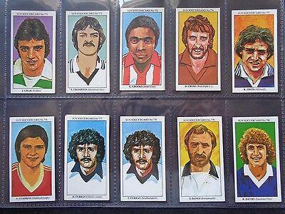 Zagalo The Sun Soccercards 1978-79 Brazil #349