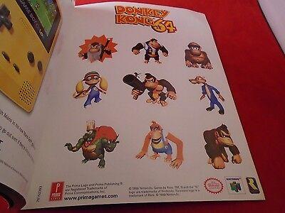 Donkey kong 64 nintendo 64 toys