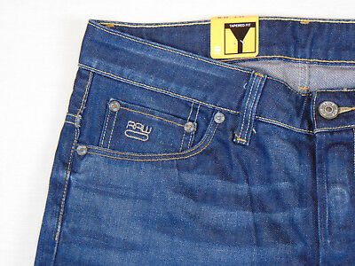 G Star Jeans 3301 Low Tapered Firro Medium Aged