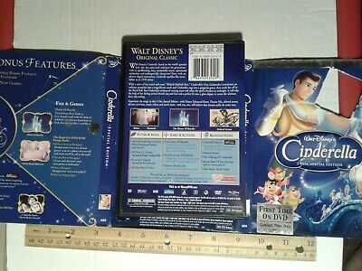 Cinderella (DVD, 2005, 2-Disc Set, Special Edition DVD Platinum Collection) 4