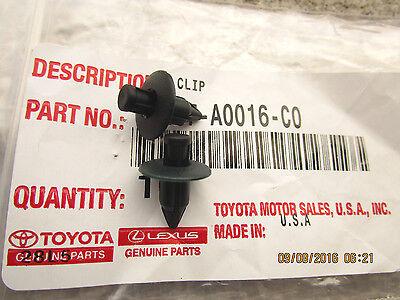 08-19 TOYOTA SEQUOIA SET OF 2 INTERIOR DOOR PANEL TRIM BOARD CLIP BROWN NEW