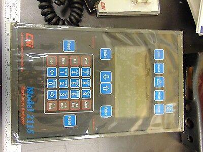 CSI 2115 VIBRATION Analyzer w/ Mastertrend & Hasp Key FN60