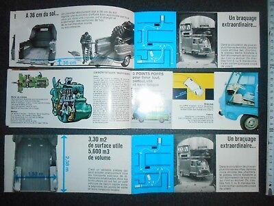 3 catalogues   ESTAFETTE RENAULT originaux pas copie bon état 5